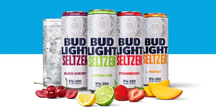 Anheuser-Busch invests $100 million in hard seltzer, the new drink craze
