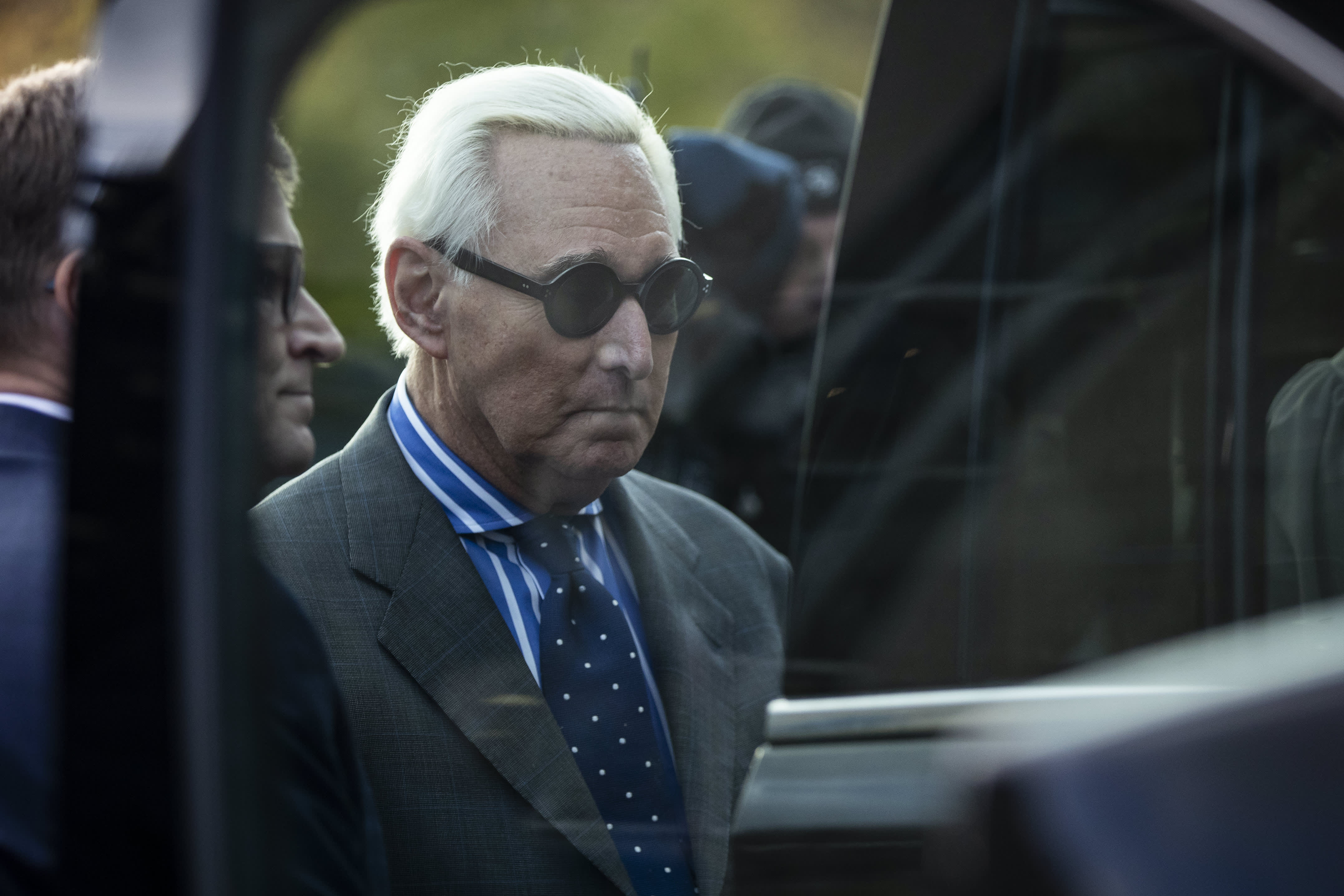 Trump friend Roger Stone found guilty of lying to Congress