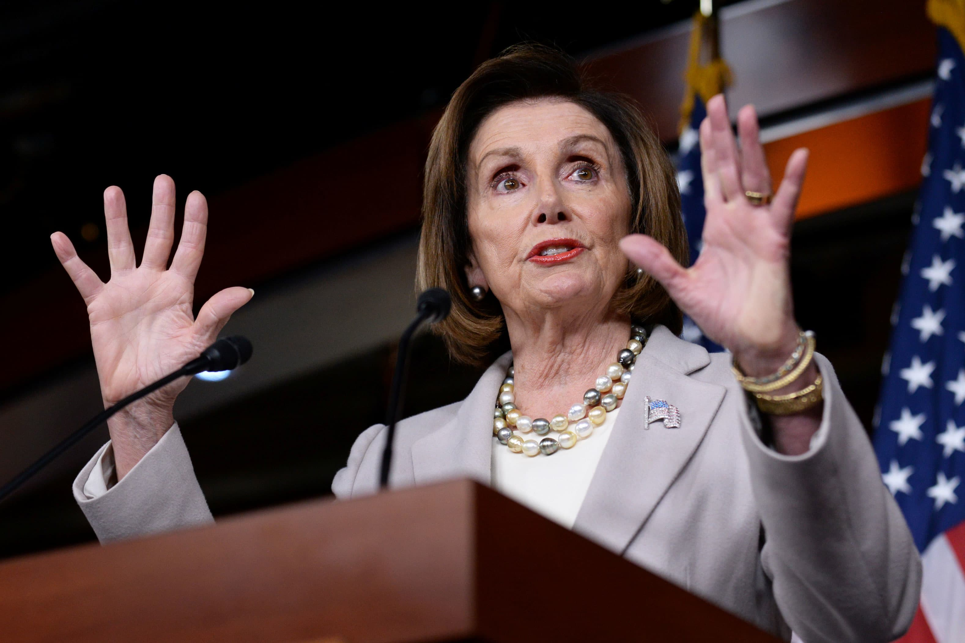 Pelosi says Trump's actions are worse than Richard Nixon's, suggests he should resign