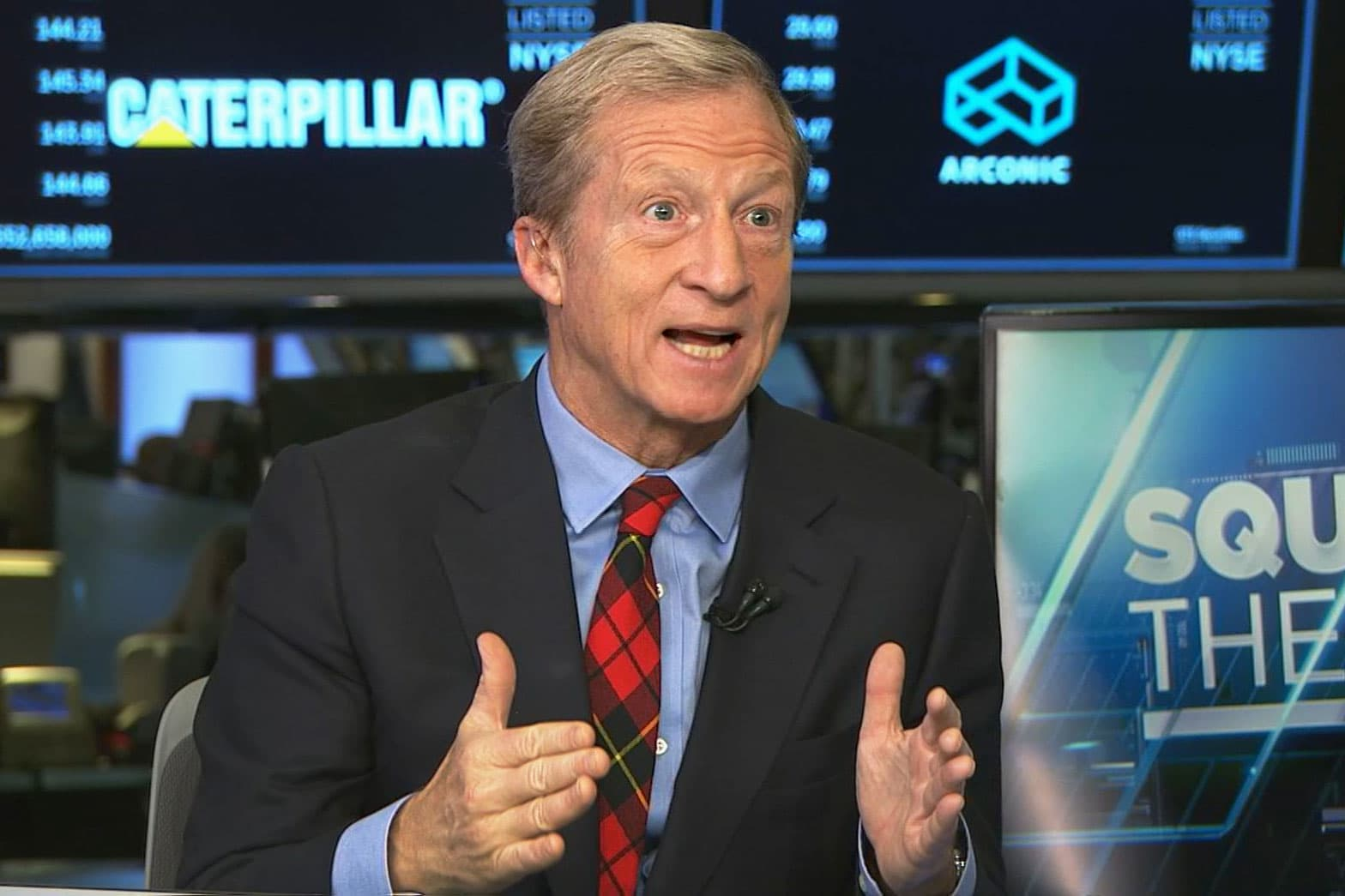Billionaire 2020 candidate Tom Steyer encourages Mike Bloomberg to support wealth tax if he enters presidential race