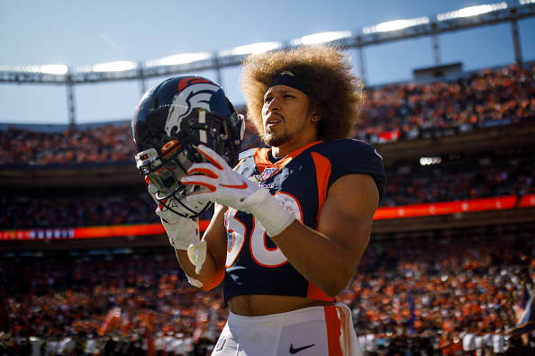 Why Broncos' Phillip Lindsay spent his rookie year living in his parents' basement - CNBC