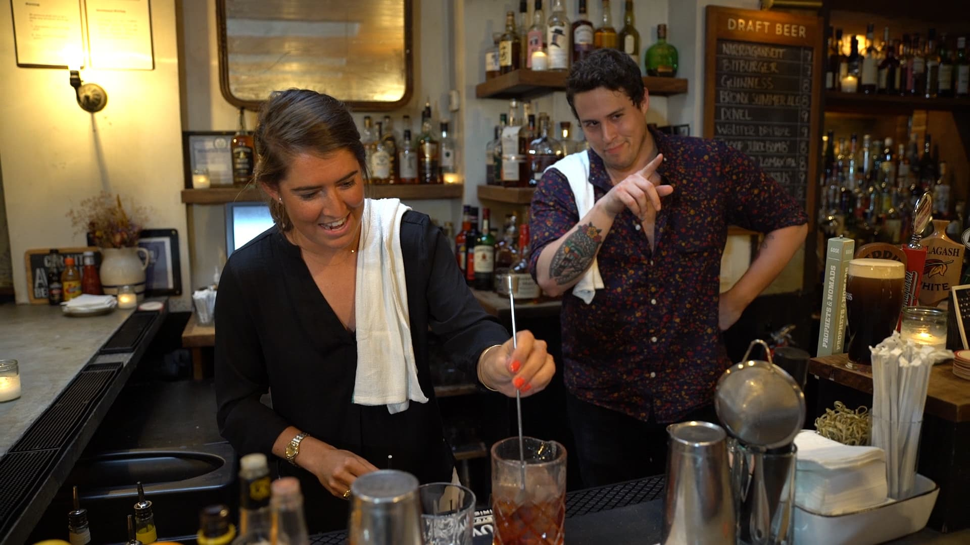 Here's what it takes to be a bartender in New York City