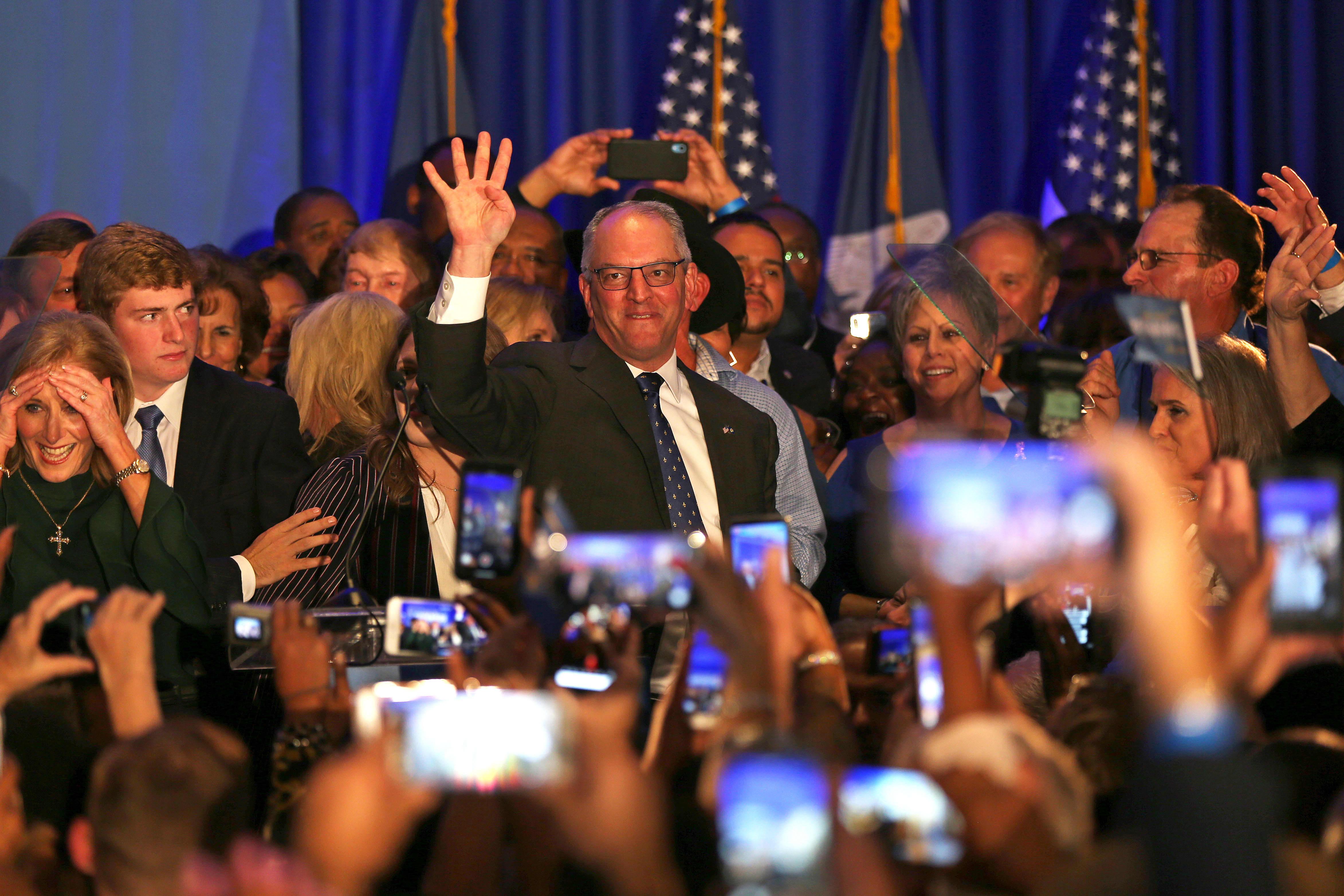 Democrats hold on to Louisiana governor's seat despite Trump