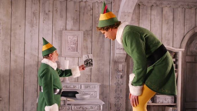 H/O: Elf movie still Will Ferrell