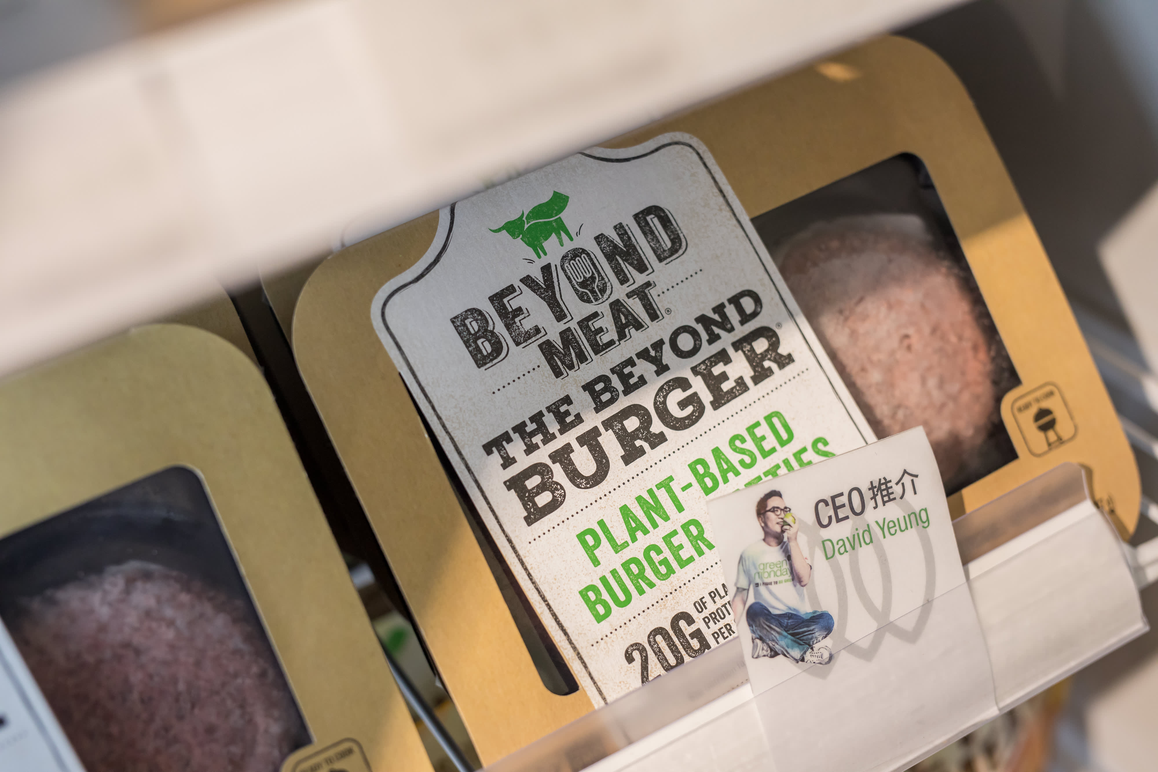 Beyond Meat loss widens amid higher costs, shares fall as pandemic clouds outlook - CNBC