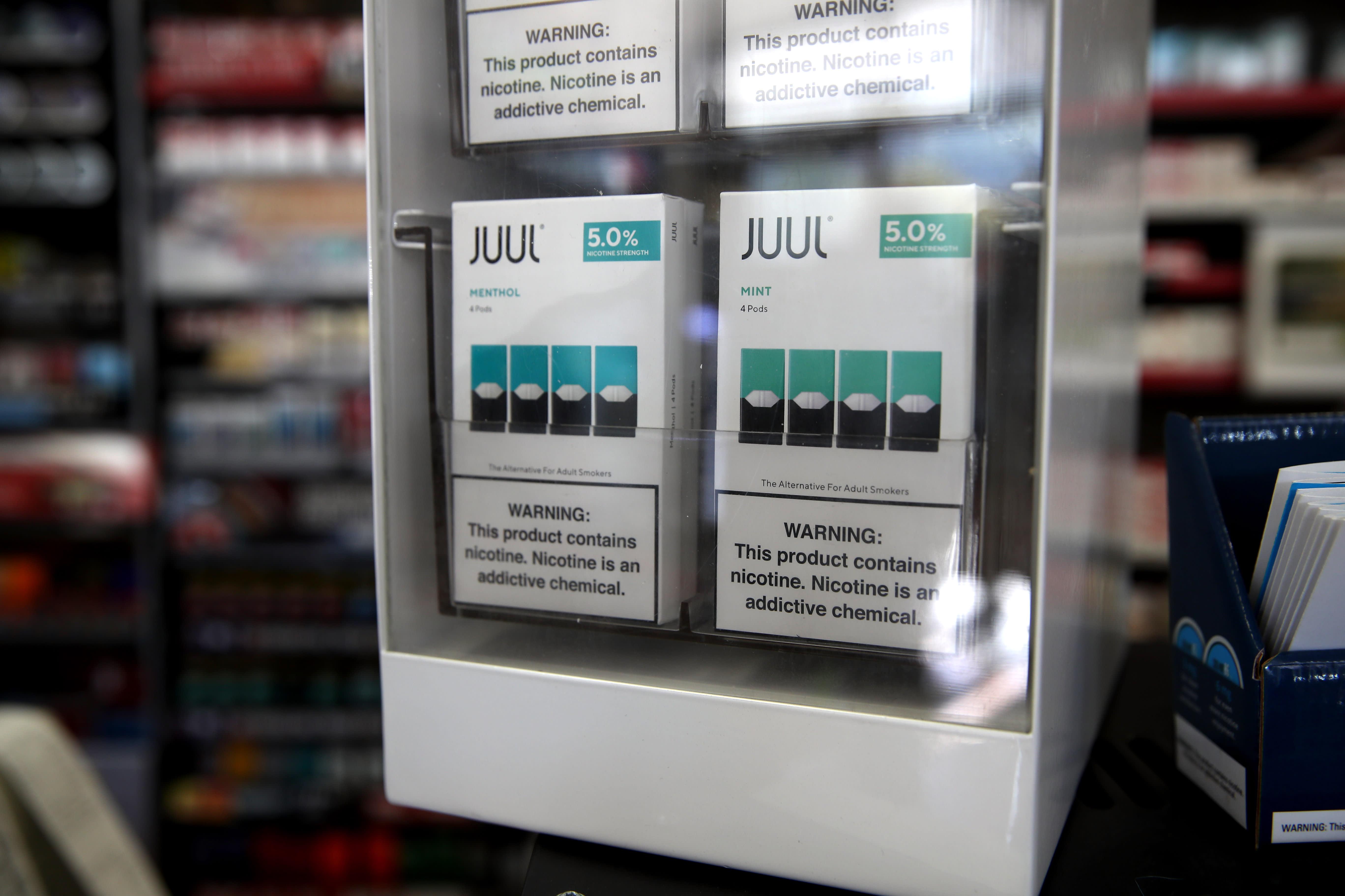 New York sues e-cigarette giant Juul