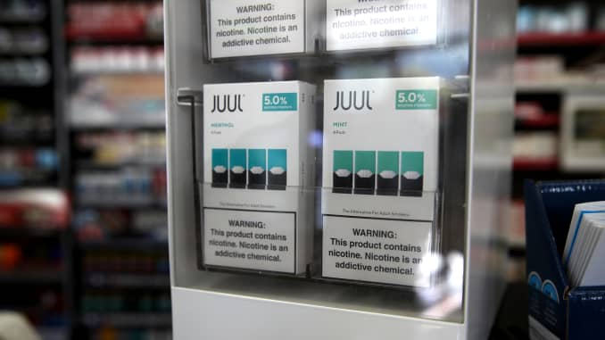 GP: E-Cigarette Maker Juul To Stop Selling Its Mint Flavor