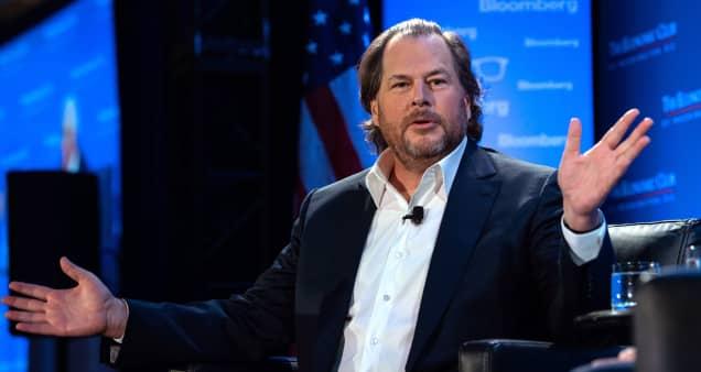 Salesforce's Marc Benioff has become tech's top dealmaker, seizing crown from former boss  Ellison
