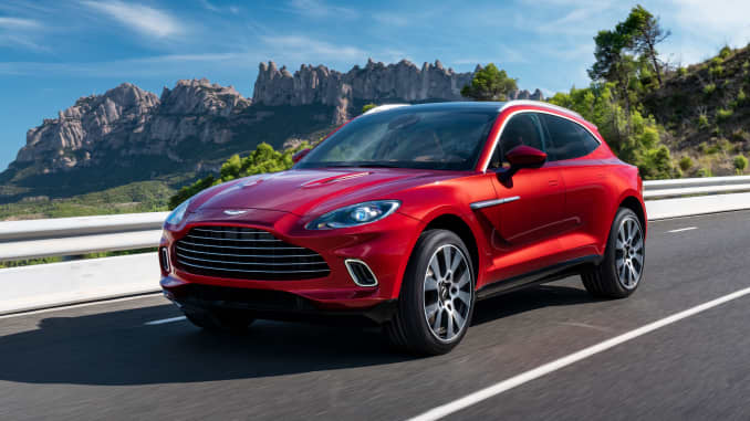 Aston Martin debuts first-ever SUV with $189,900 DBX