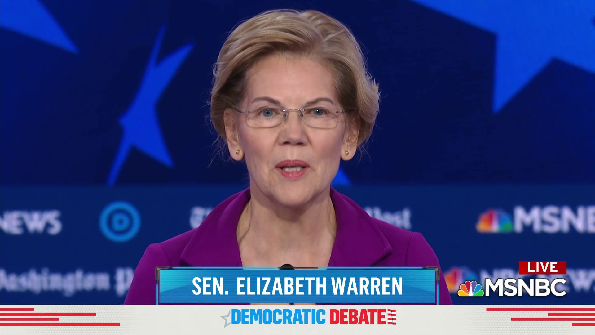 Elizabeth Warren: Doing a wealth tax is not about punishing anyone