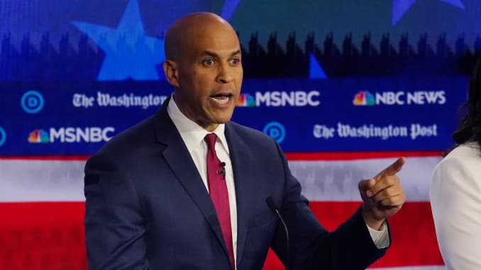 RT: Democratic Debate Atlanta 191120: Cory Booker