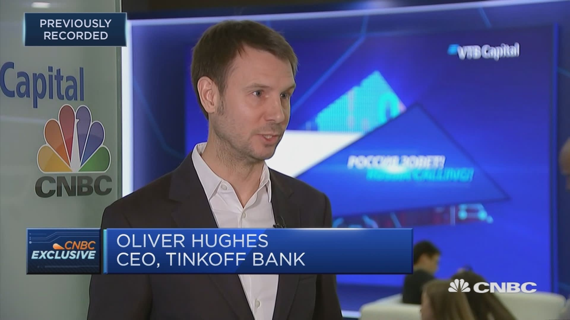 Tinkoff Bank CEO: Outlook is good going into next year