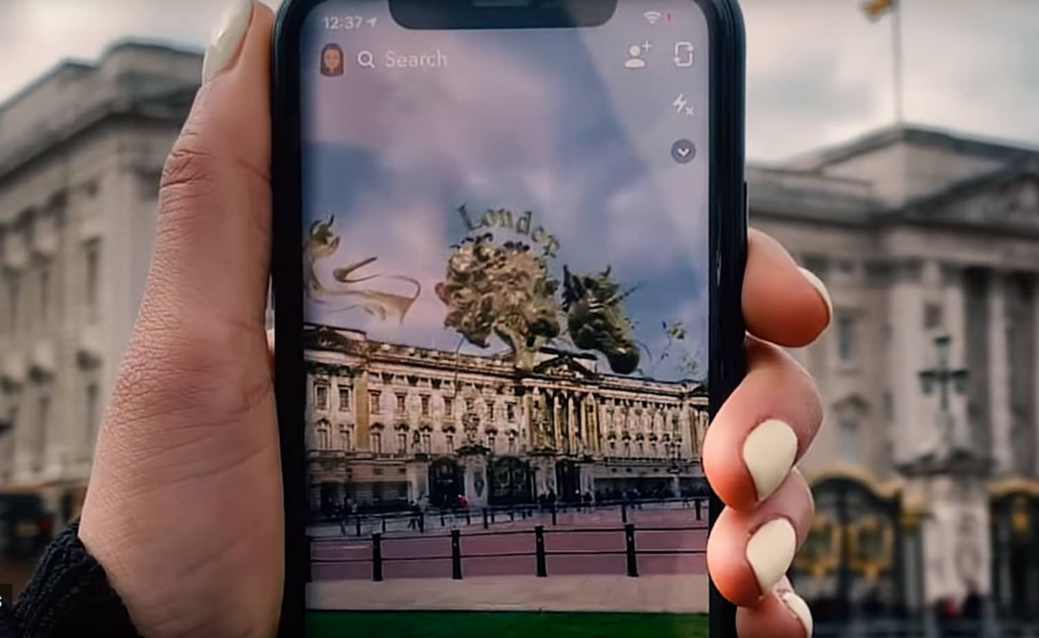 Snap and Verizon partner on 5G and new digital ads that will be overlaid on top of the real world