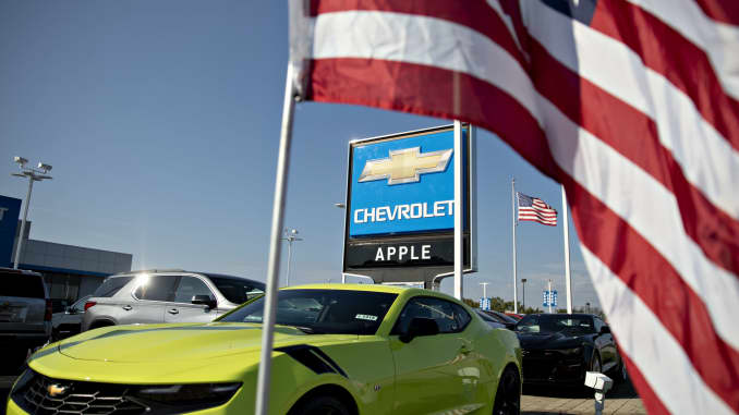 GP: Chevrolet car dealership
