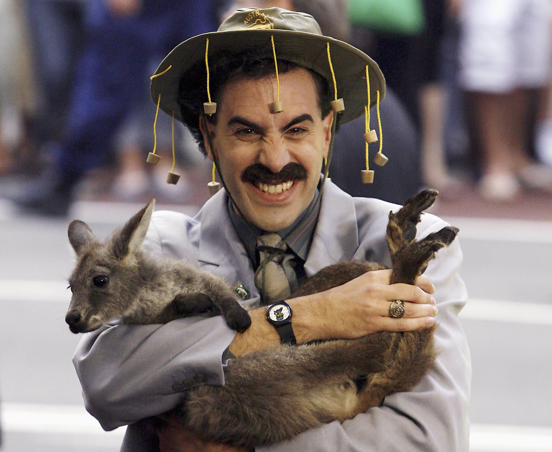 Borat actor: Facebook, Google, Youtube and Twitter are 'greatest propaganda machine in history'