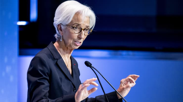 ECB chief Christine Lagarde speaks of a new order in the world economy at debut speech