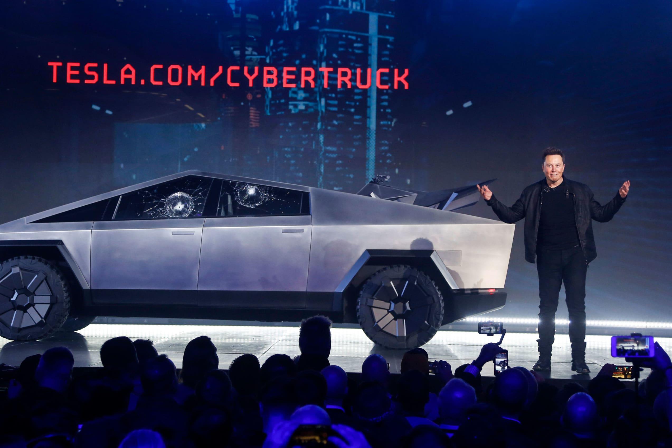 Big brands troll Elon Musk's Cybertruck with their own versions on Twitter