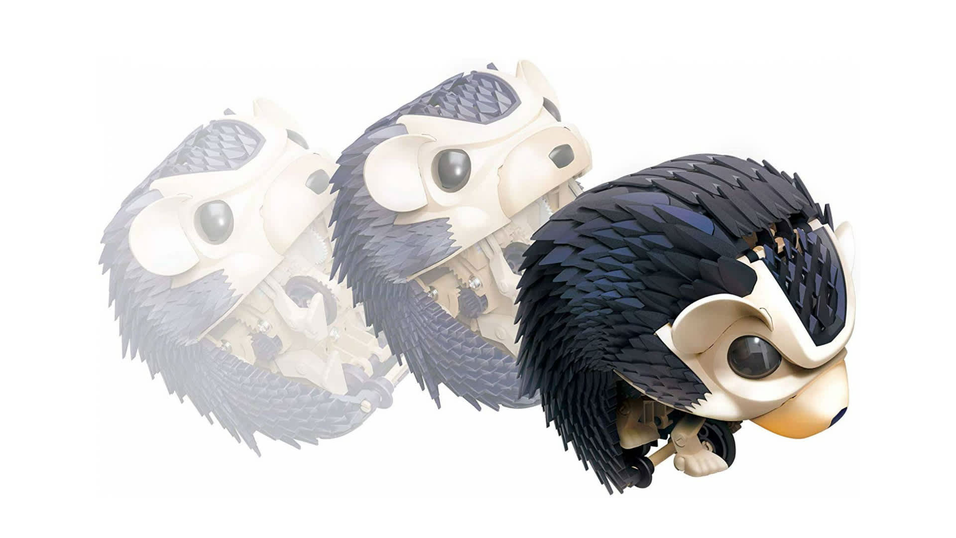 My Robotic Pet: Tumbling Hedgehog is a STEM experiment kit from Thames & Kosmos.