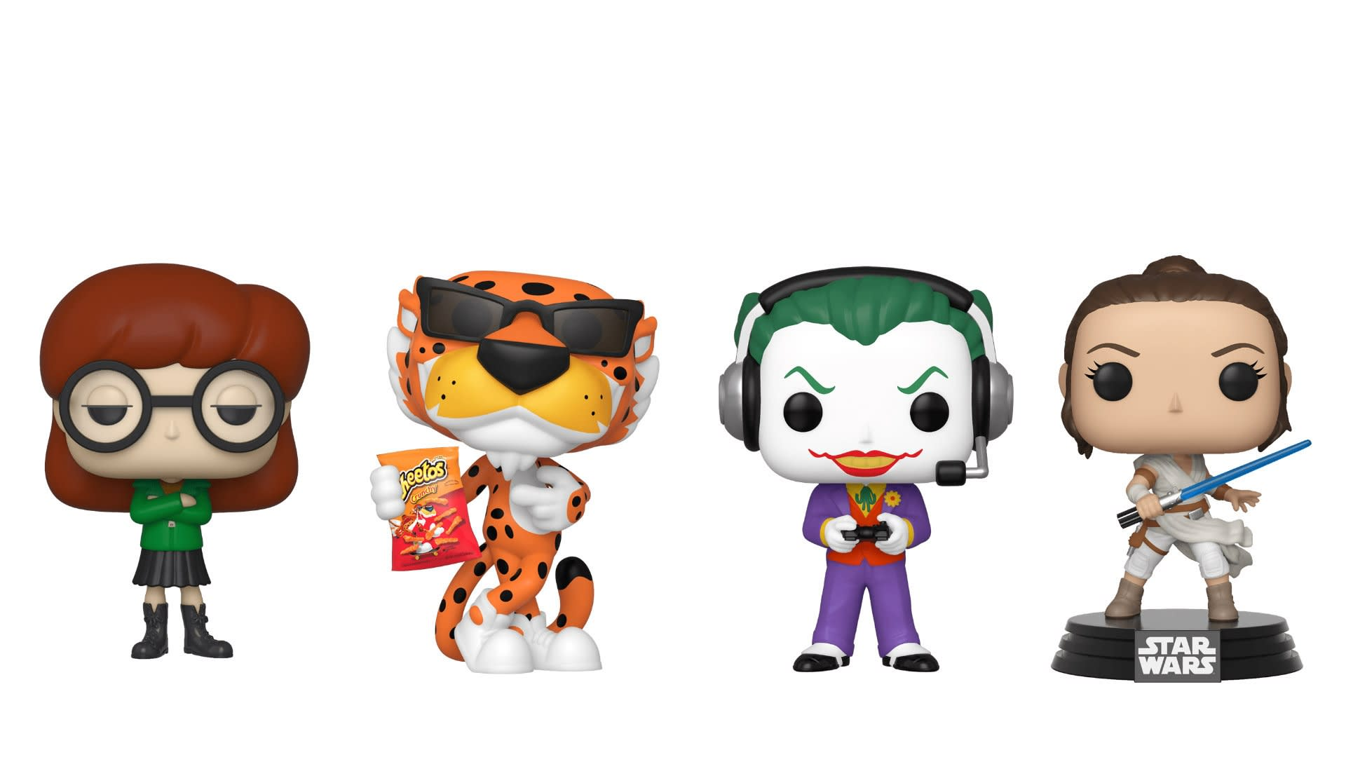 Collectible Funko Pops from Funko.