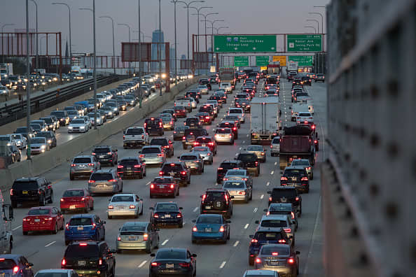 Expect travel delays as more than 55 million people hit the roads, rails and skies for Thanksgiving