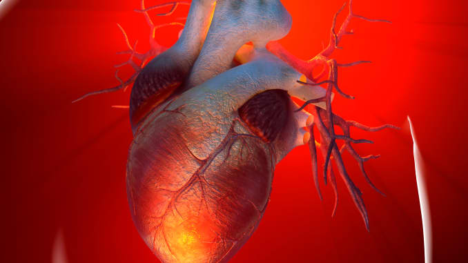 GP: Heart attack, conceptual artwork