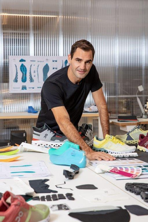 Roger Federer on being obsessed with sneakers