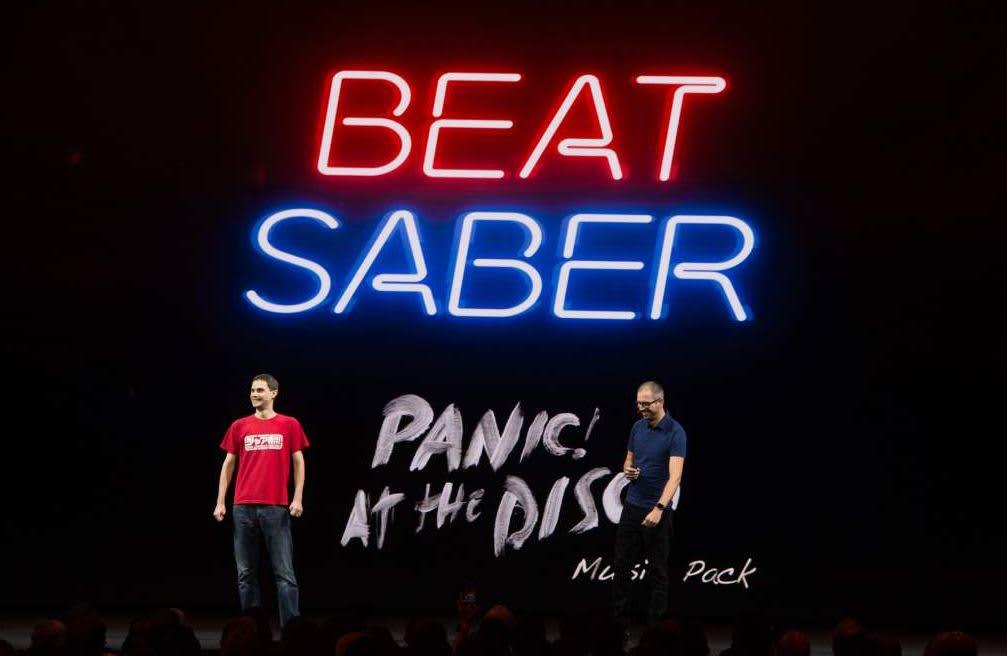 Facebook Buys Beat Saber Vr Game Maker Beat Games