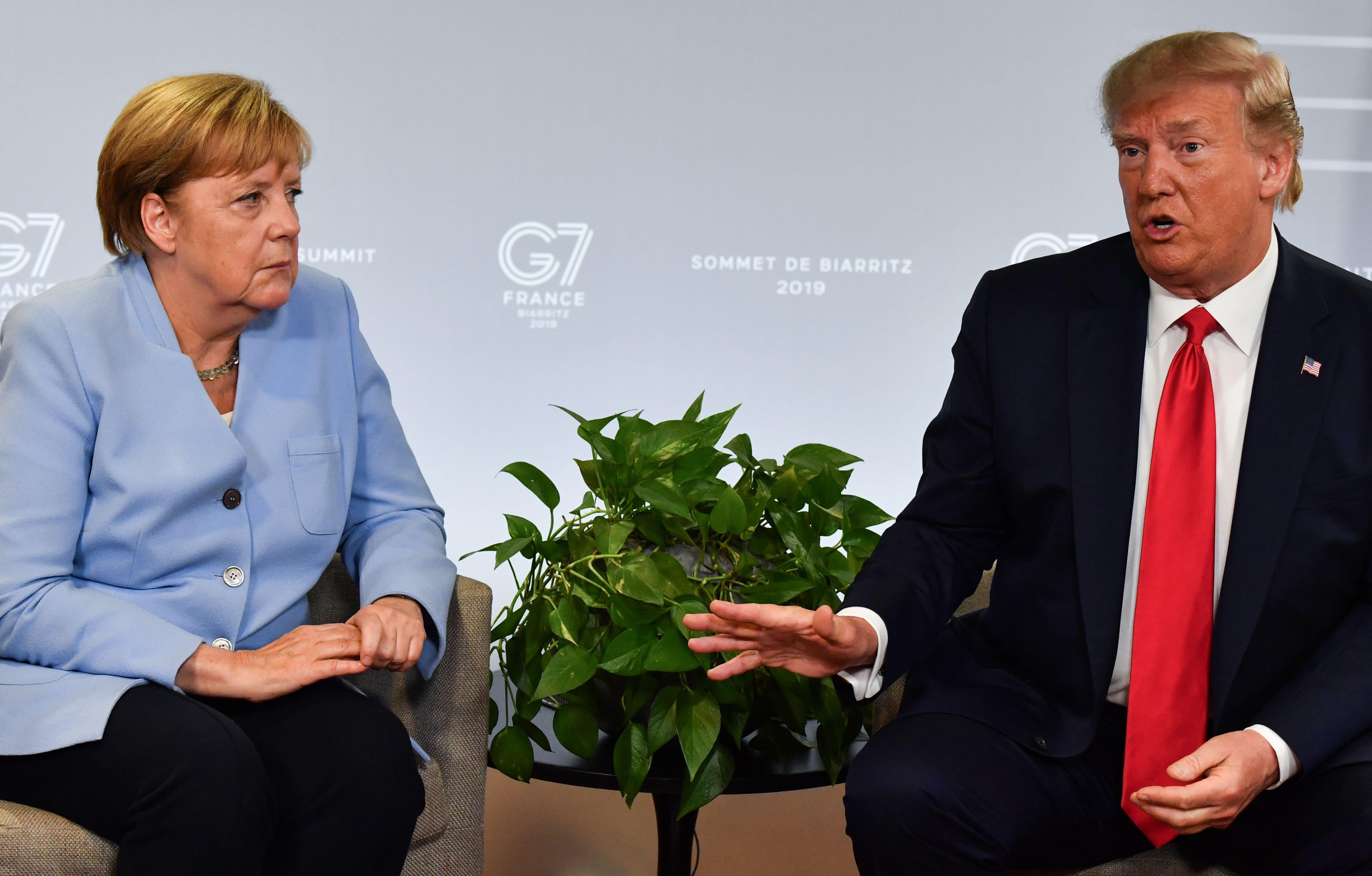 Europe has fallen down the US' list of priorities, Germany's Merkel says