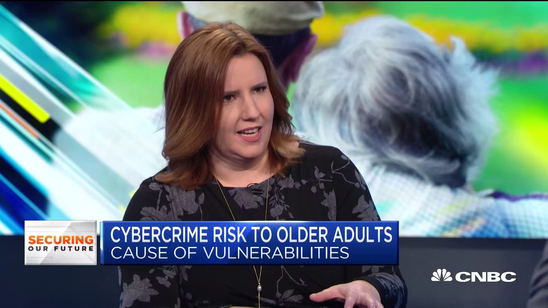 Older adults are being targeted by cybercrimes because they have more money in their accounts