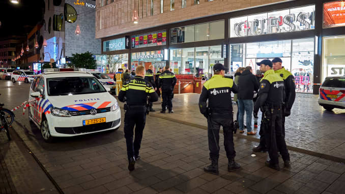 AP: Dutch police after stabbing 191129
