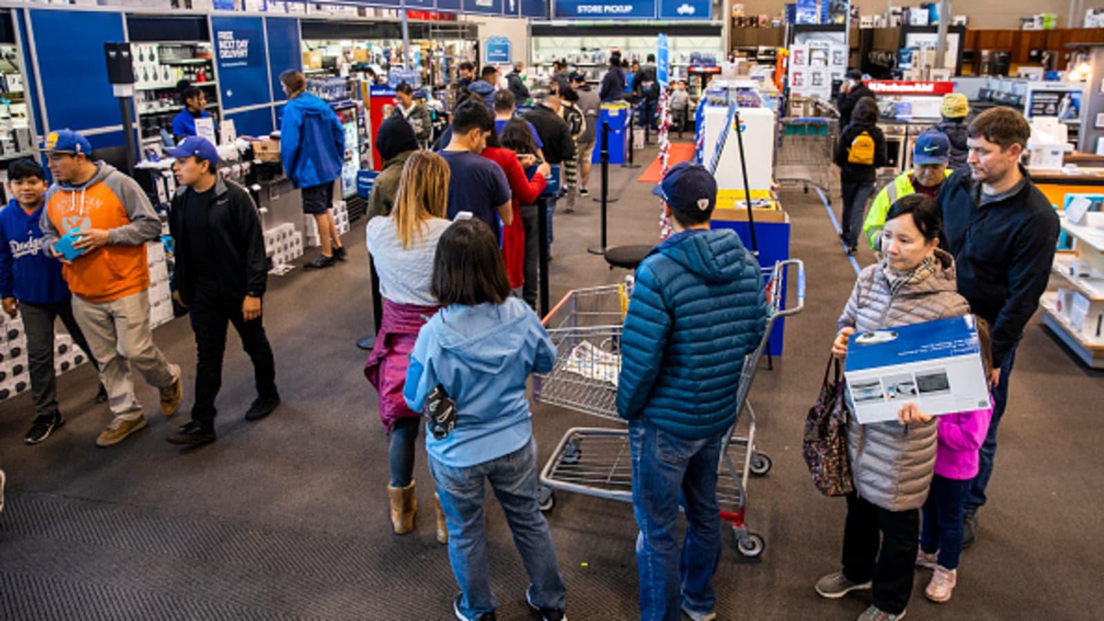 Black Friday Shopping At Brick And Mortar Stores Dropped By 6