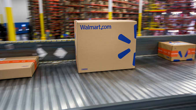 GP: Operations Inside A Wal-Mart Stores Inc. Distribution Center