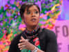 WASHINGTON, DC - OCTOBER 10: Ariel Investments President Mellody Hobson speaks onstage at the Fortune Most Powerful Women Summit - Day 2 on October 10, 2017 in Washington, DC.