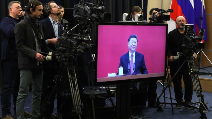 GP: Xi Jinping Vladimir Putin Power of Siberia pipeline