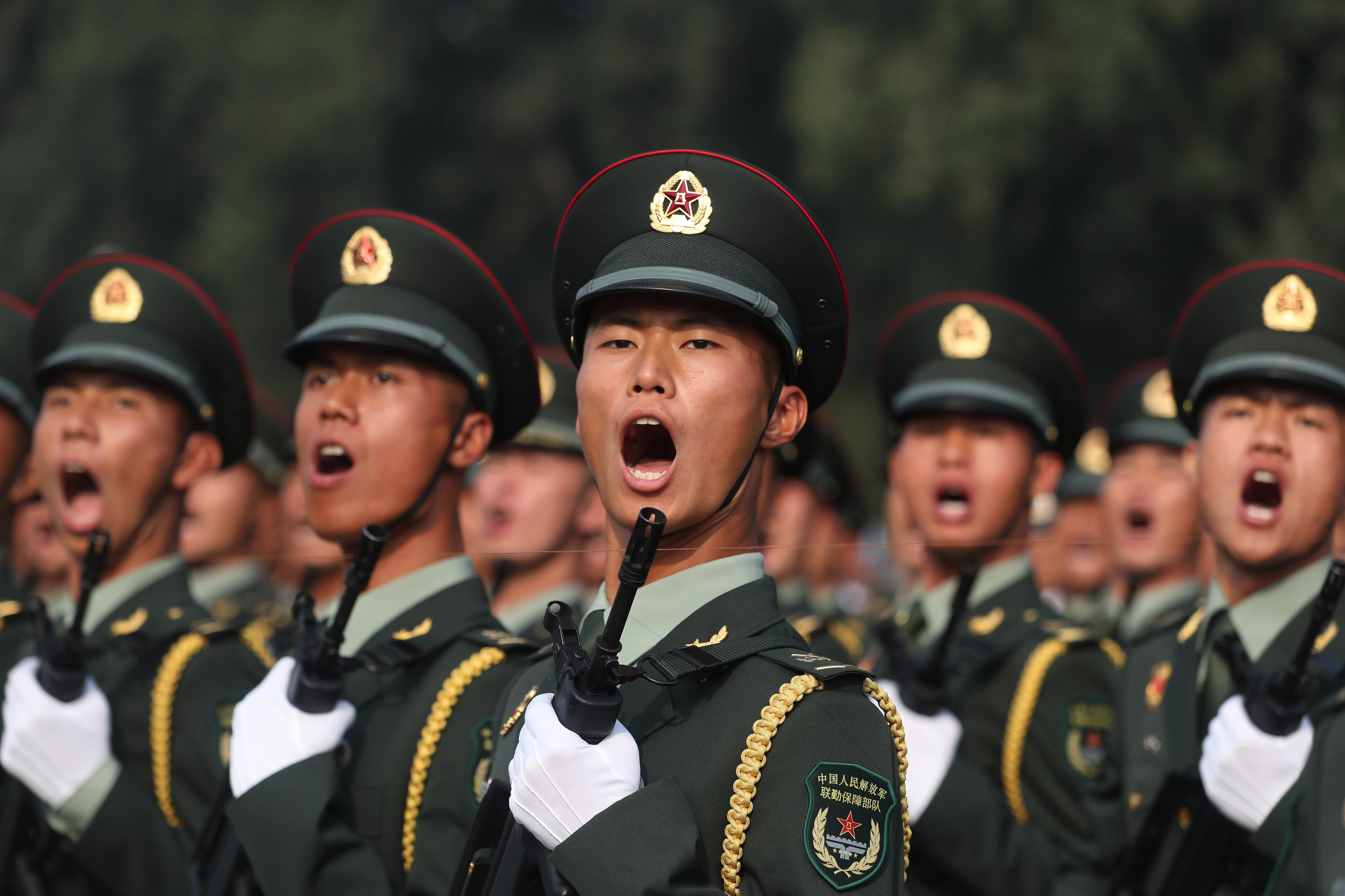 China's military might has now become a top issue for NATO