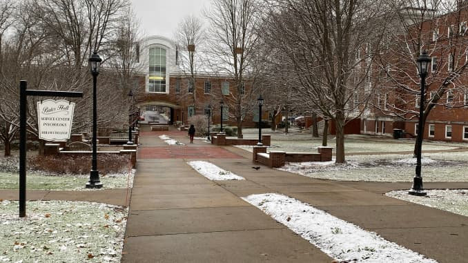 CNBC: Hiram College campus