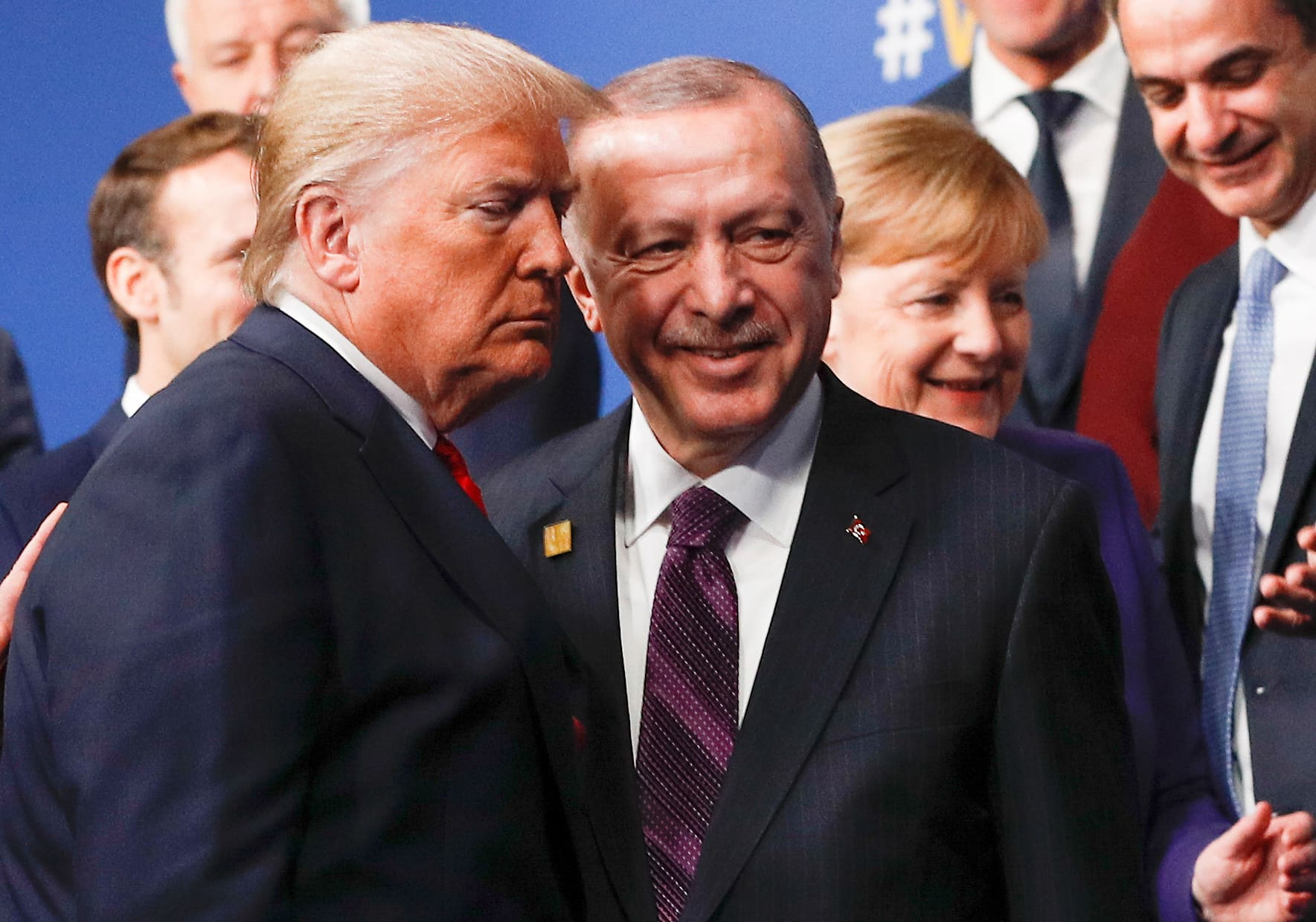 Erdogan, Trump have 'very productive' meeting at NATO summit: Turkish official