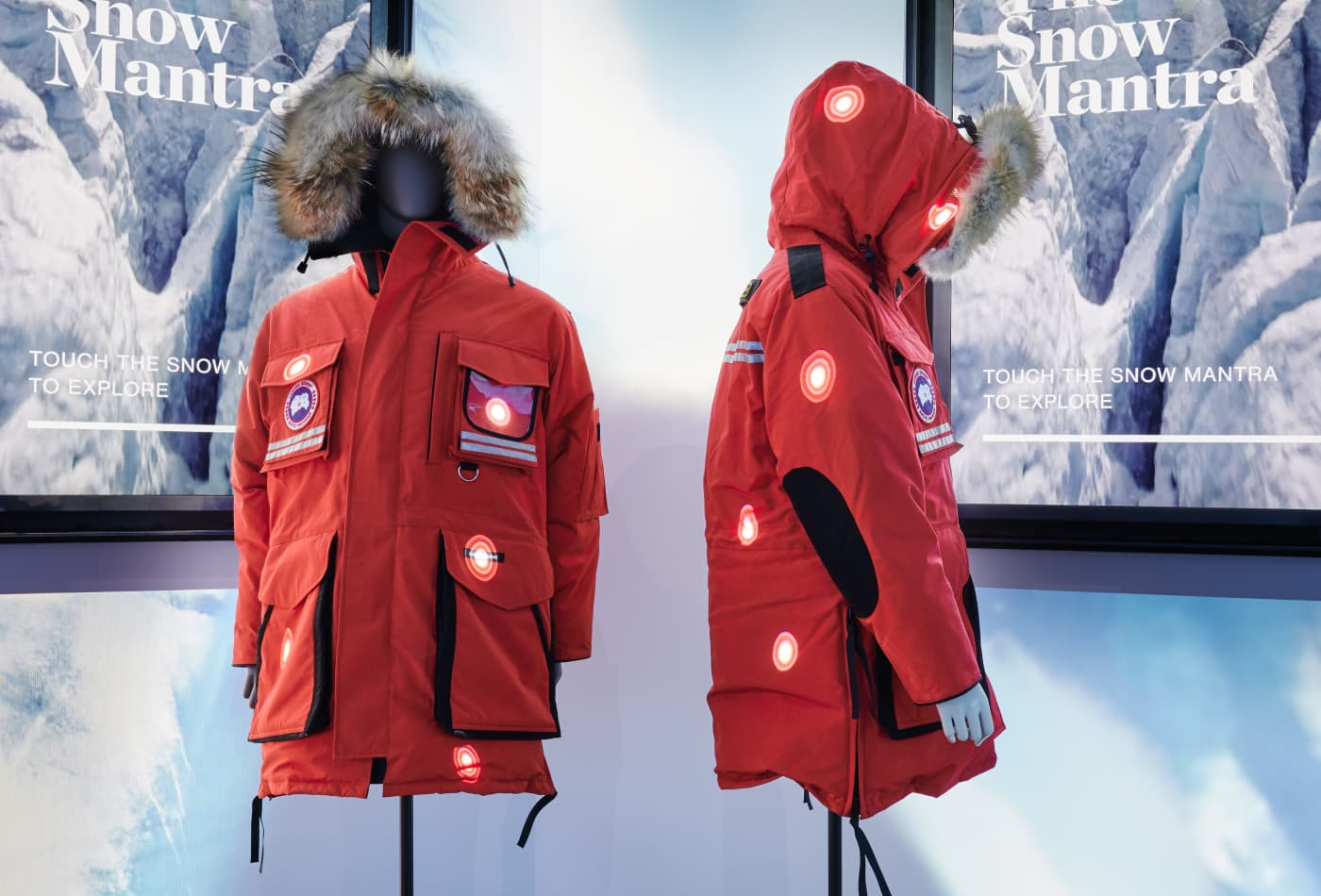 Canada Goose CEO says experiential store offers a 'break from the insanity of the world today'