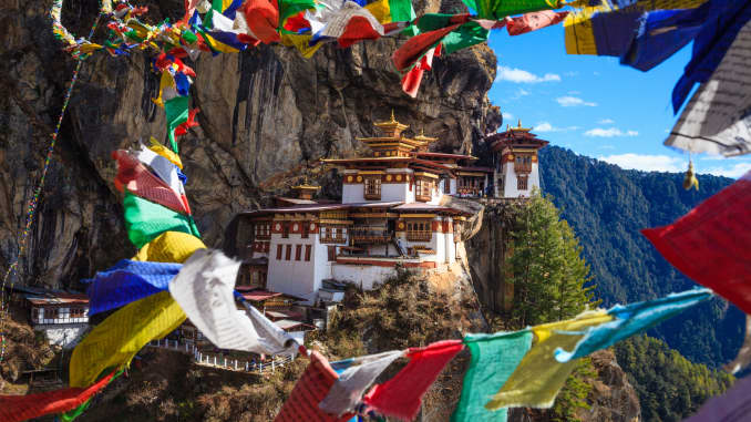 GP: Where to Go 2020: Bhutan Paro Taktshang Monastery