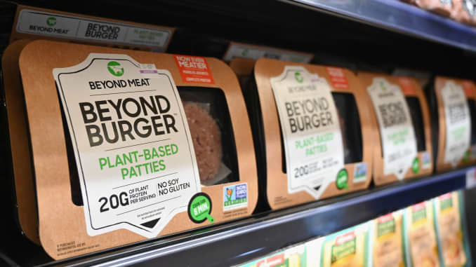GP: Beyond Meat on store selves