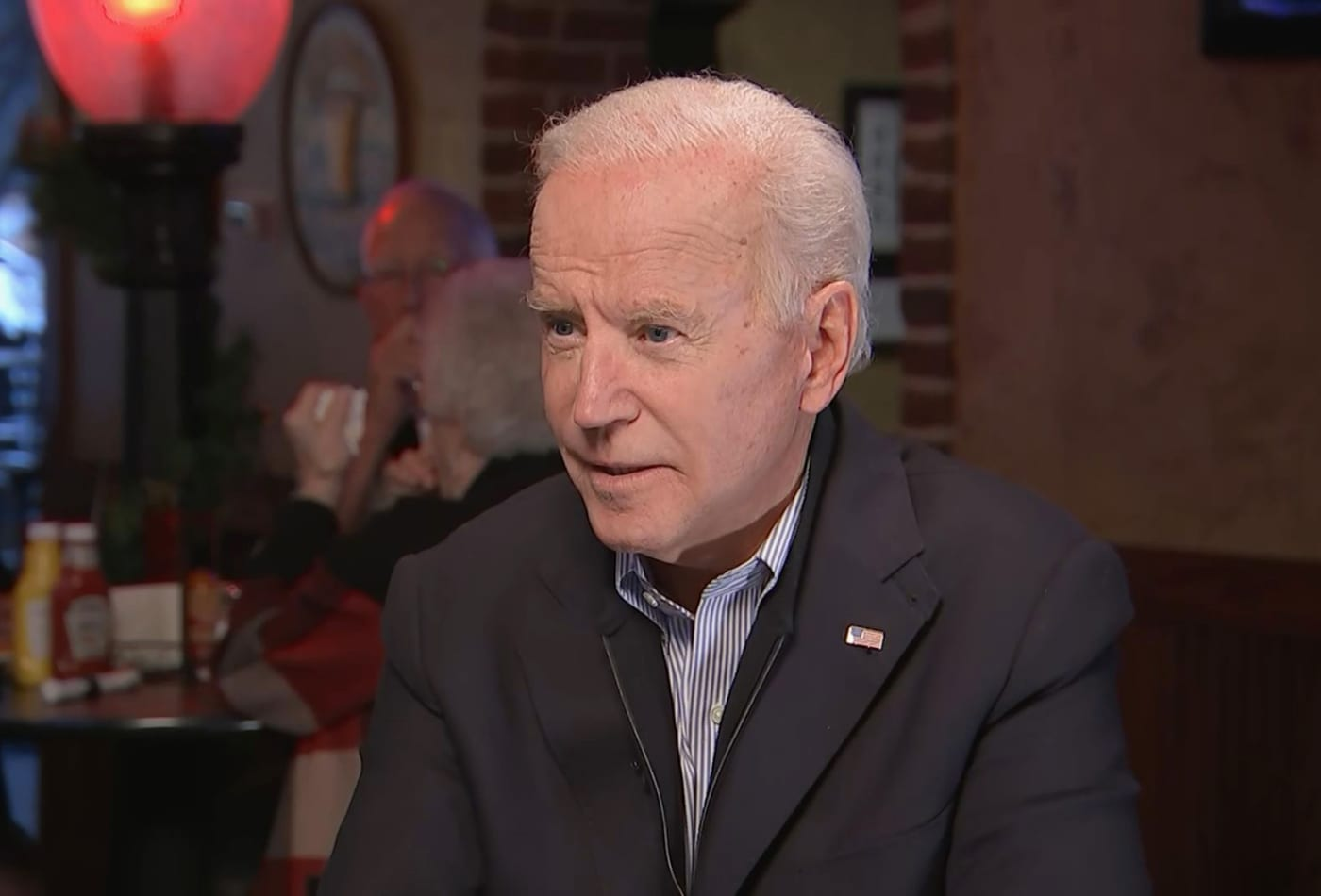 Joe Biden says Trump is 'ripping the soul out of this country' and 'we're likely to inherit a recession'
