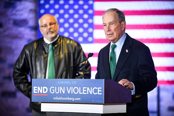 Mike Bloomberg rolls out gun safety proposals