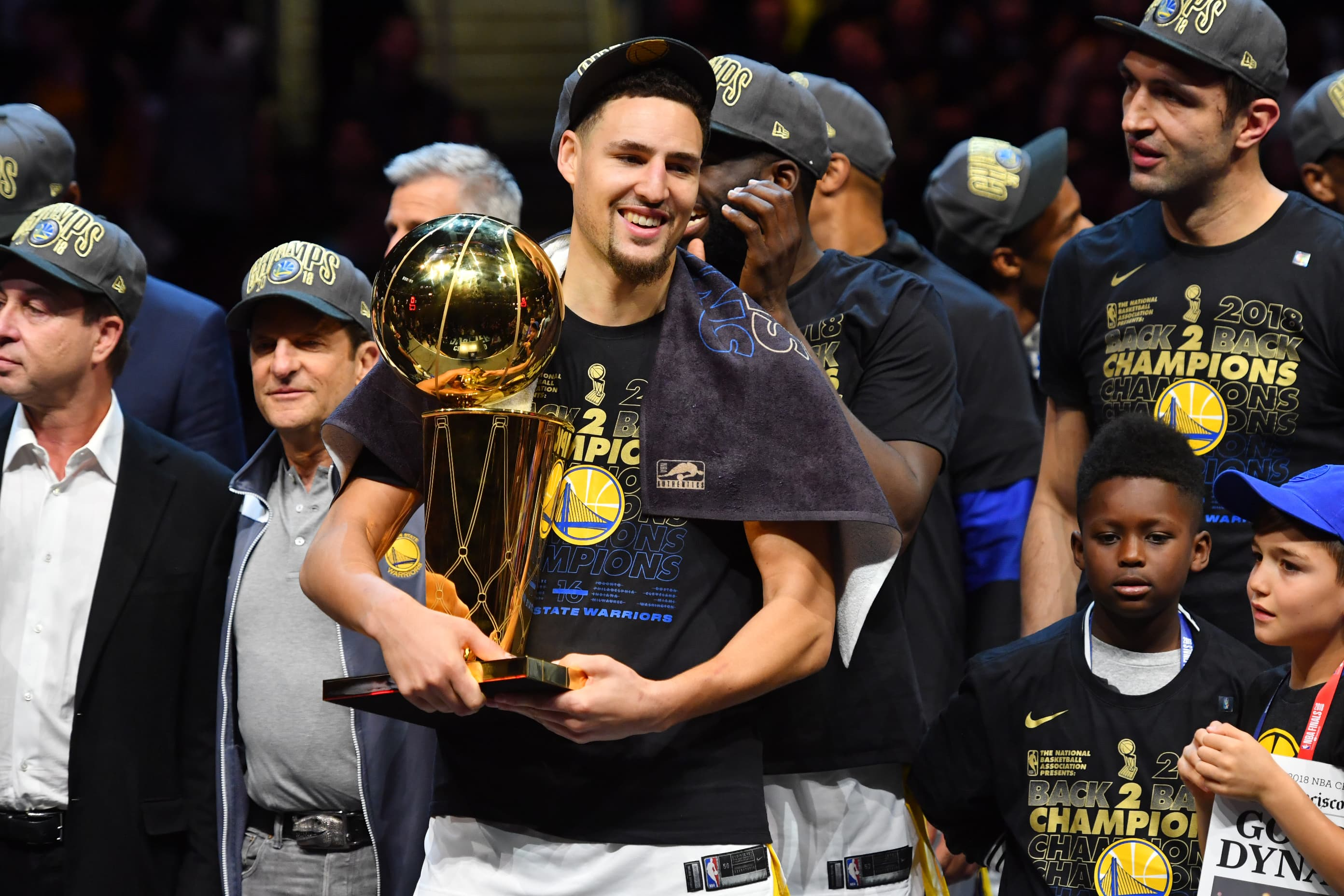 NBA star Klay Thompson says his first paycheck was 'more money than I could ever think of'—here's what he bought
