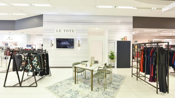 h/o: le tote and lord & taylor