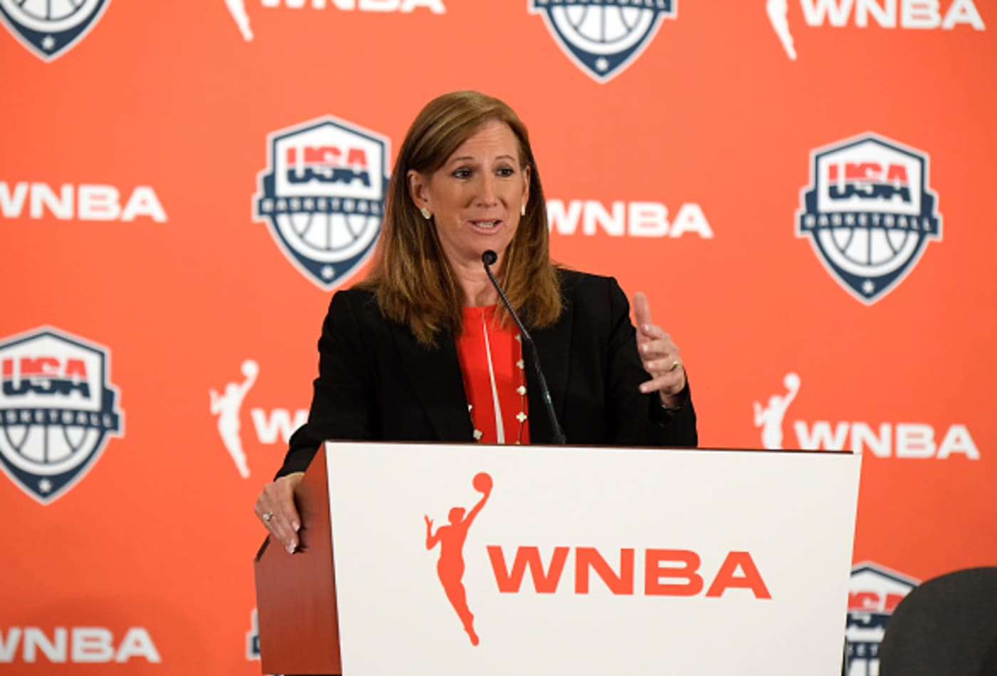 WNBA agrees to 53% pay raise, maternity benefits for players in new collective bargaining agreement