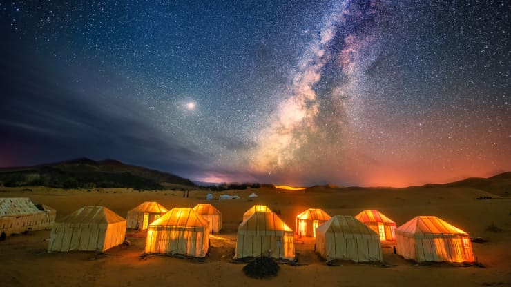 GP: The milky way at the sahara desert in Morocco.191210