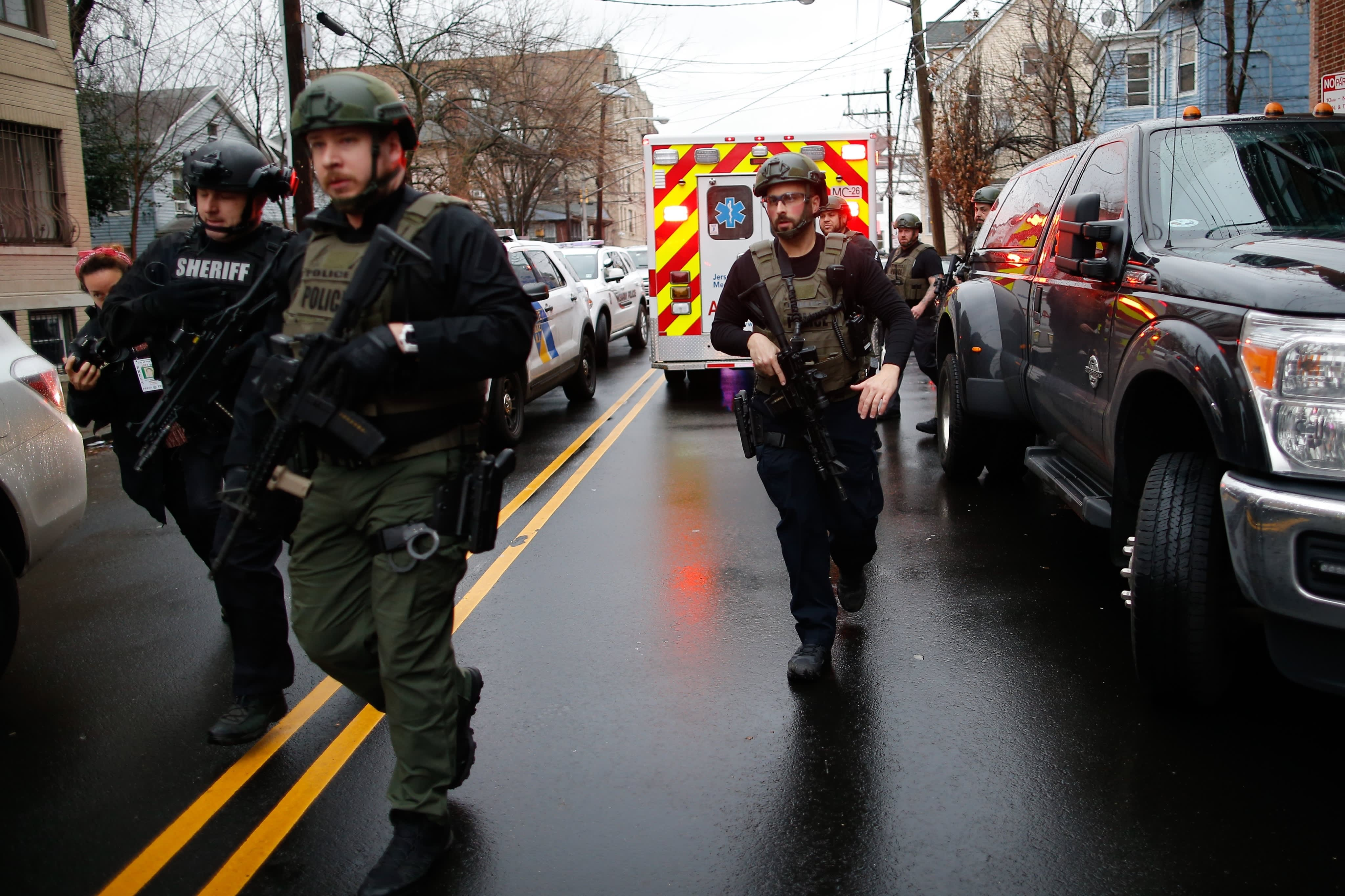Multiple killed in New Jersey shooting, including an officer