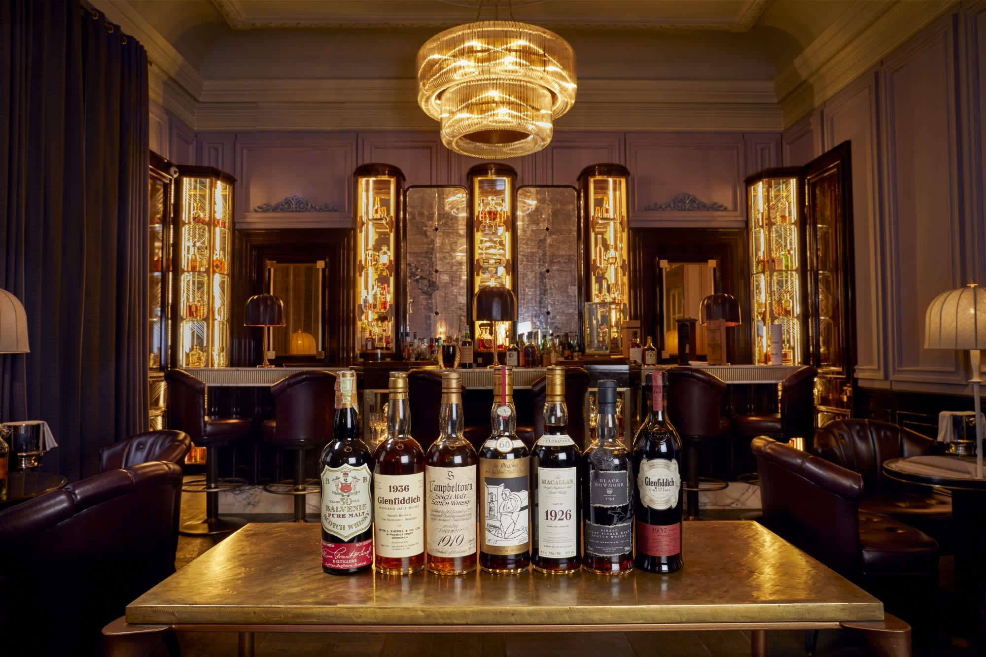 Here's what $10 million worth of rare whisky looks like
