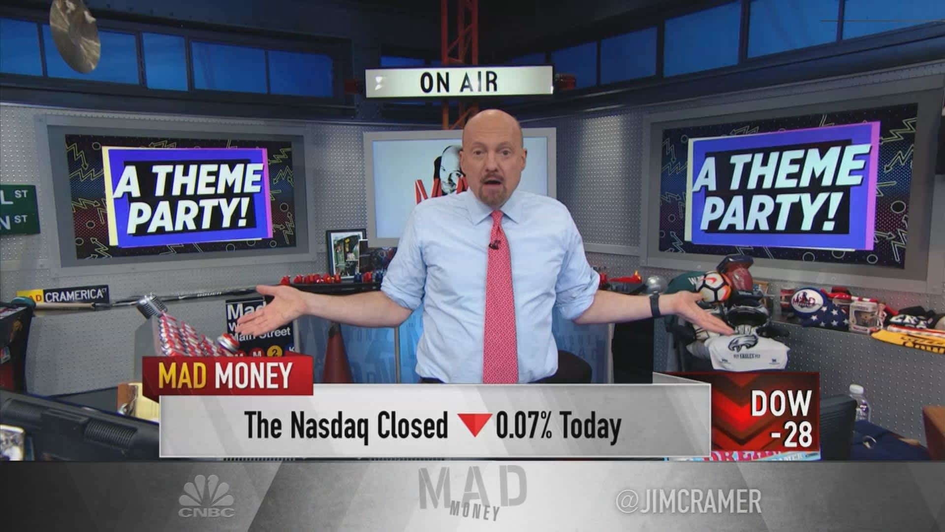 Jim Cramer: Invest in 'big, apolitical themes that work no matter what'