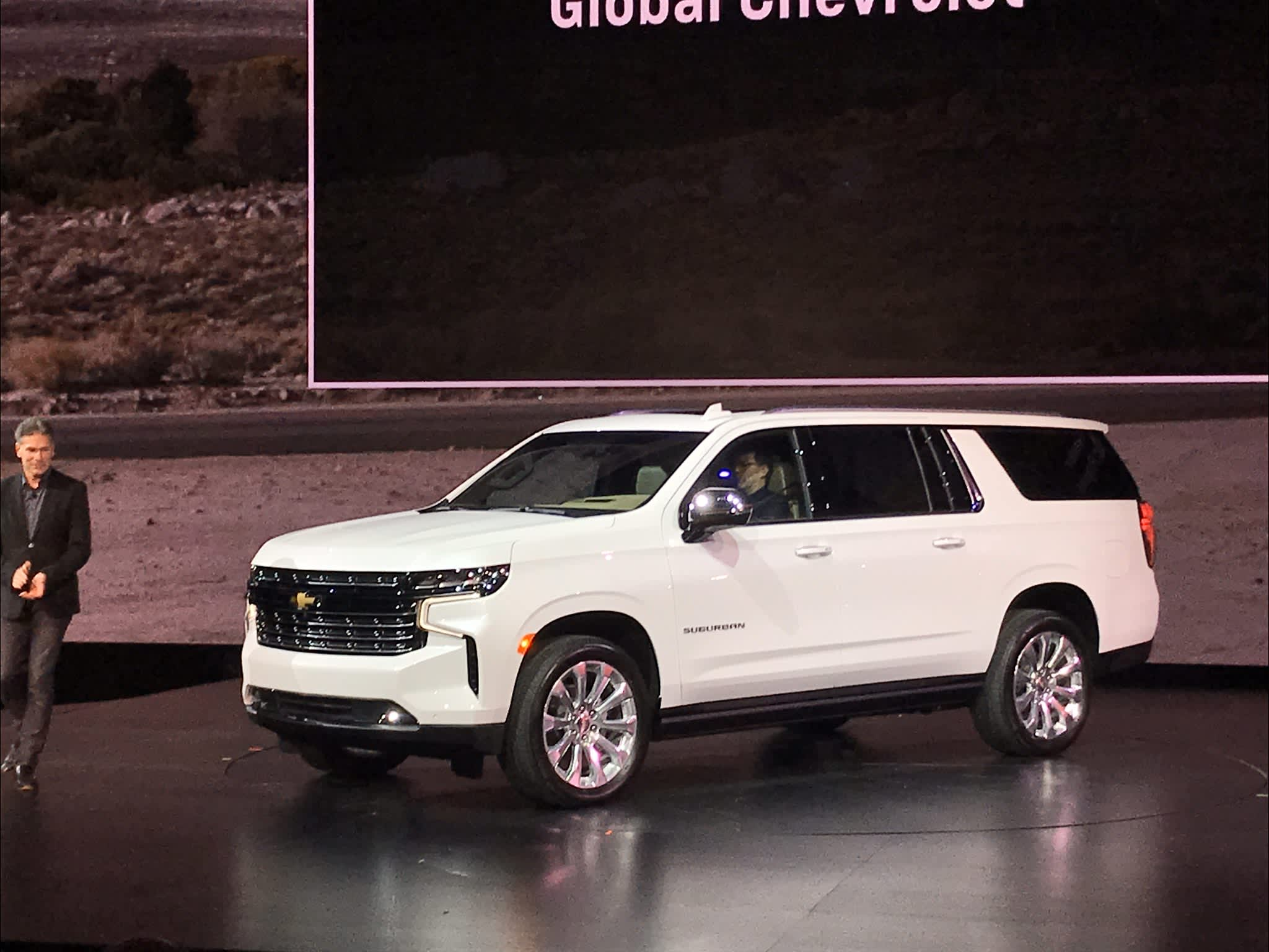 GM unveils new Chevrolet Tahoe, Suburban SUVs